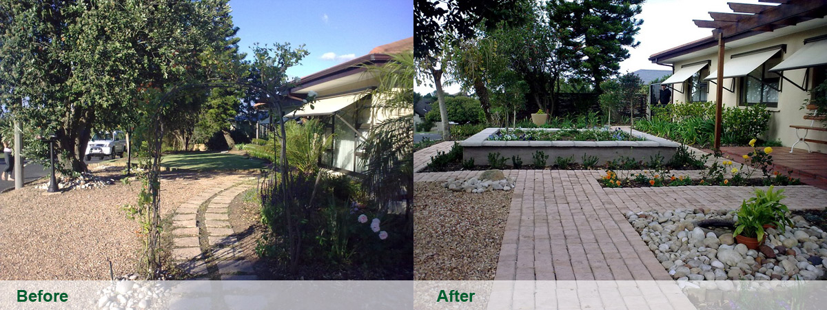 Landscaping in Cape Town